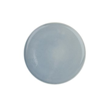 Shell Bisque Set of 4 dinner plates, 27.7cm, blue