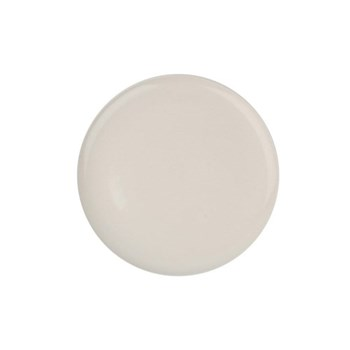 Shell Bisque Set of 4 dinner plates, 27.7cm, white