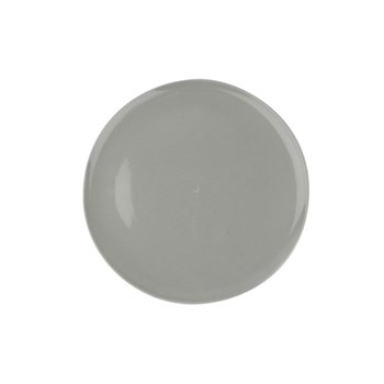 Shell Bisque Set of 4 dinner plates, 27.7cm, grey