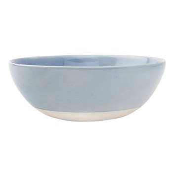 Shell Bisque Set of 4 cereal bowls, 17 x 6.4cm, blue
