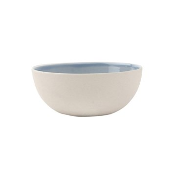 Shell Bisque Set of 4 small bowls, 11.4 x 4.5cm, blue