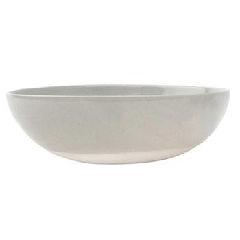 Shell Bisque Round serving bowl, 25.4 x 7.6cm, grey