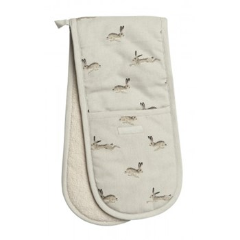 Hare Double oven glove