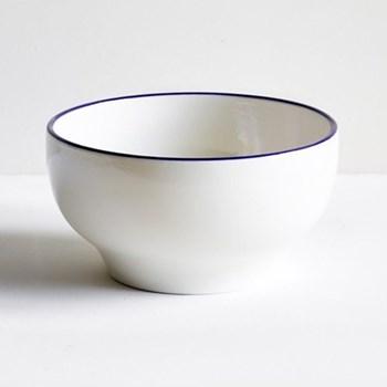 Classical Cobalt Blue Line Simple bowl, 15cm