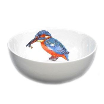 Kingfisher Bowl, 16cm