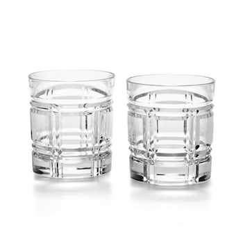 Greenwich Pair of double old fashioned tumblers