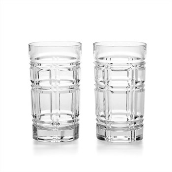 Greenwich Pair of highball glasses