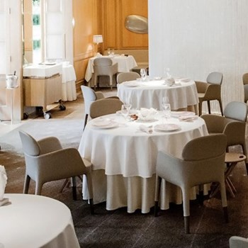 Three Michelin star seasonal menu for two at Alain Ducasse at the Dorchester