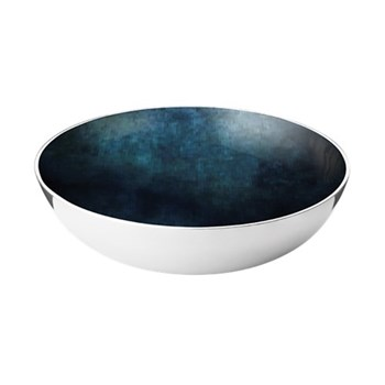 Stockholm - Horizon Bowl, D40 x H11.7cm, aluminium and enamel
