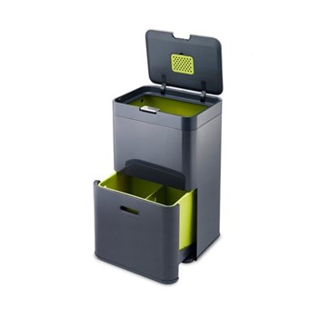 Waste separation & recycling unit 66 x 40 x 30cm