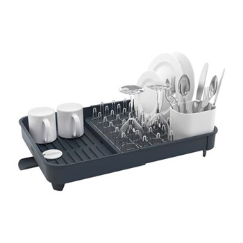 Extend Expandable dish rack, H16 x L36.5 x W32cm, grey