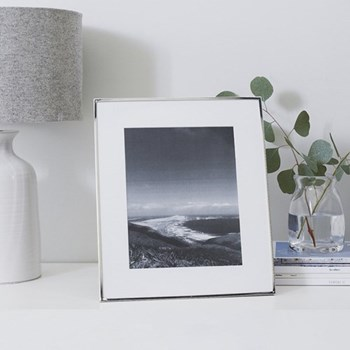 Fine Silver Photograph frame, 8 x 10""