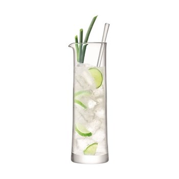 Gin Cocktail jug and stirrer, 1.1 litre, clear