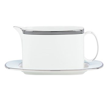Parker Place Sauceboat with stand