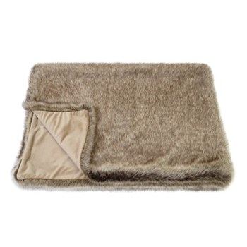 Signature Collection Double throw, 180 x 145cm, truffle