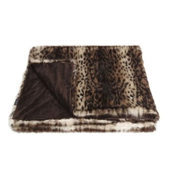 Classic Collection Double throw, 180 x 145cm, ocelot
