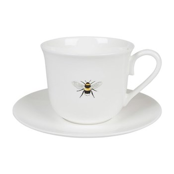Bees Teacup and saucer, 275ml