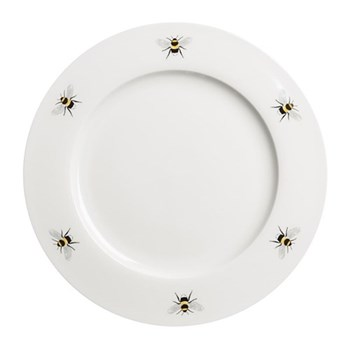 Bees Set of 4 dinner plates, 27cm