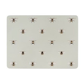 Bees Set of 4 placemats, 29 x 21.5cm