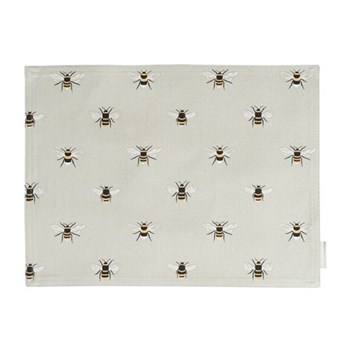 Set of 4 fabric placemats 40 x 30cm