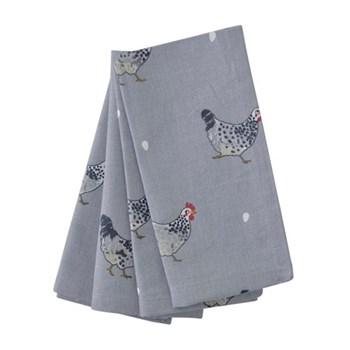 Set of 4 napkins 40 x 30cm