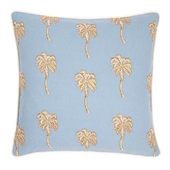 Palmier Cushion, W45 x L45cm, chambray