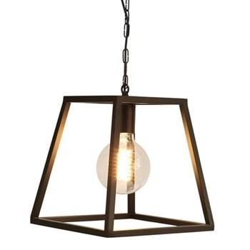 Single trapeze chandelier frame 30 x 30 x 3cm