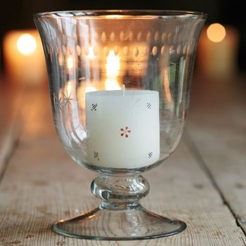 Scented pillar candle H7.5cm