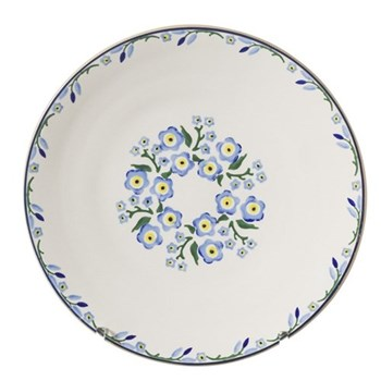 Forget Me Not Presentation platter, D35cm