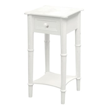 Bedside table with drawer 70 x 36 x 36cm