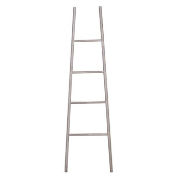 Loft Decorative wooden ladder, 170 x 49cm