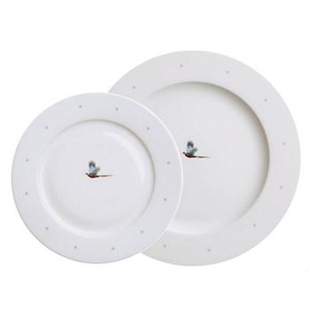 Set of 4 side plates 21cm