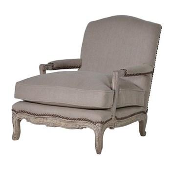Imperial low armchair, 90 x 79 x 100cm, linen
