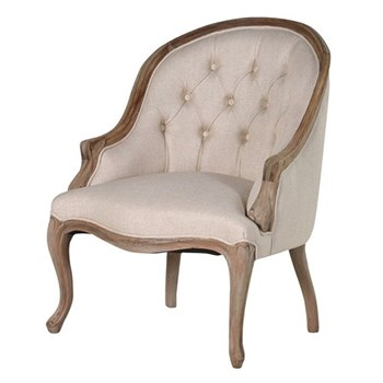 Curved back chair 88 x 65 x 69cm