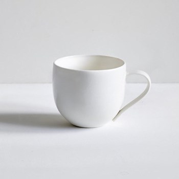 Simple Mug, plain porcelain