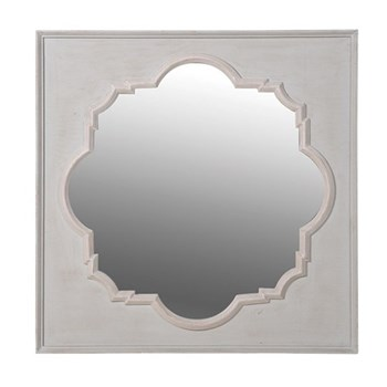 Mirror, 95 x 95cm, inset in moulded frame