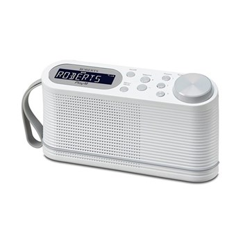 Play 10 Portable digital radio, white