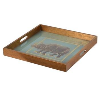Rhino Square tray, 40 x 40cm