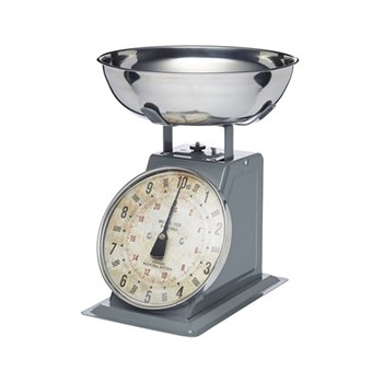Industrial Kitchen Mechanical kitchen scales, 27 x 27 x 34cm, high capacity - 10kg