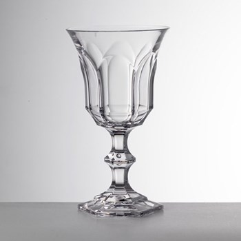 Victoria and Albert Acrylic water goblet, 16.5cm, clear