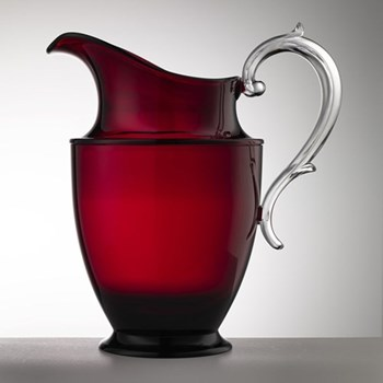 Federica Acrylic jug, 1.2 litre, red