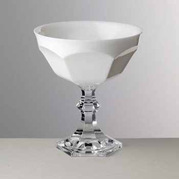 Acrylic coupe ice cream bowl 14cm