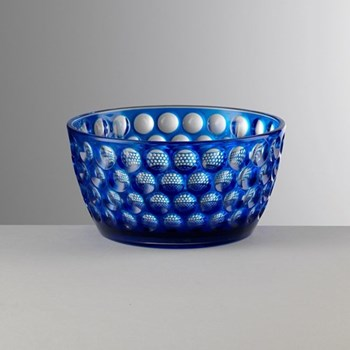 Lente Acrylic small bowl, 7cm, blue