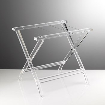 Next Acrylic tray stand, clear