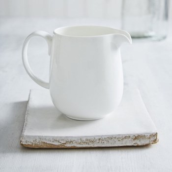Symons Jug, 600ml, white bone china