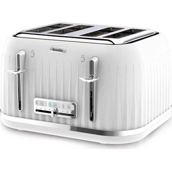 Impressions Toaster, 4 slot, white