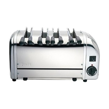 Classic Sandwich toaster, 4 slot, polished stainless steel