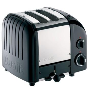 Classic Newgen toaster, 2 slot, black
