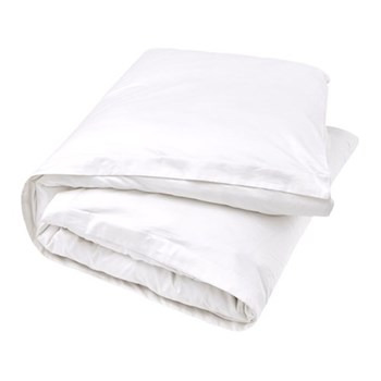 500TC Cotton Satten King size duvet cover, 230 x 220cm, snow