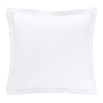 1000TC Cotton Sateen Square pillowcase, 65 x 65cm, snow